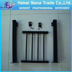 Wrought iron indoor stair fence finials