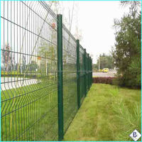easy install PVC coated bending fence wire mesh(professional factory)