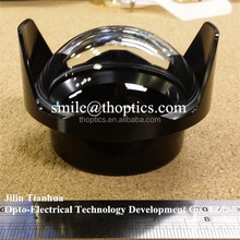 optical glass large dome lens,underwater camera housing,