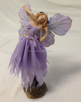 8.35 inch resin statue home decoration fairy figure