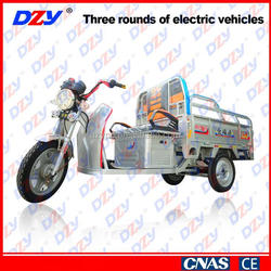 Liberating labor high safety factor cargo tricycle dump