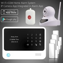 2015 new technology intelligent alarm system wired wireless alarm system 433/315/868mhz frequency gsm security alarm system