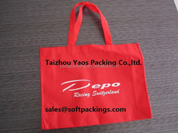 customized non woven shopping bag, reusable shopping bag