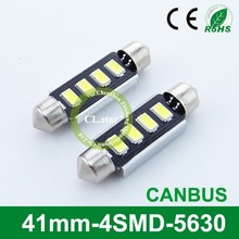OEM products factory auto lamp led lights led 5630 41mm-4smd 5630 canbus led interior lamp