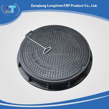 En124 compuesto eléctrico tapas de registro / toalla sanitaria FRP cubierta de boca EN124 / polímero eléctrico tapas de registro
