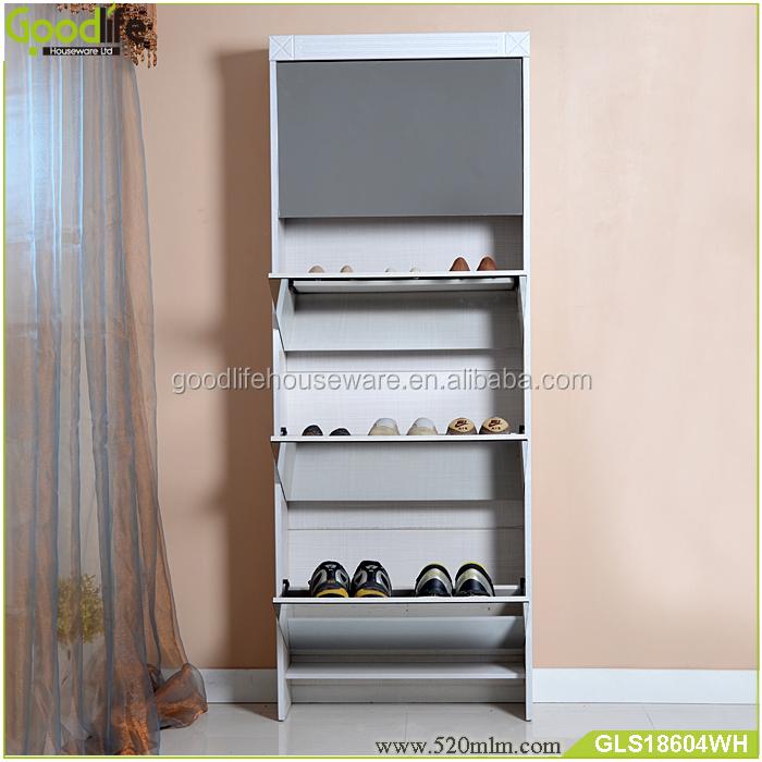 GLS18604mirror shoe cabinet-5