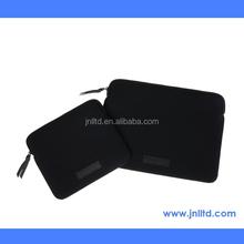 Fashionable Black Color Bouble Layer Neoprene Laptop Case