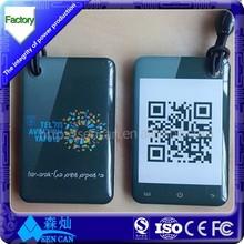 Passive RFID Tag 13.56Mhz NTAG203 NFC tag encode different URL like phone shape