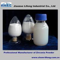 China Supplier Nano Ceramic Protective Paint Coating White Zirconium Powder