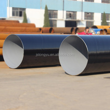 sewer Anticorrosive European standard Spiral Welded Steel Pipe a252 spirally welded pipe