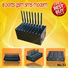 8 channels USB gsm modem/SMS sending modem,16 sim card multi-port modem pool