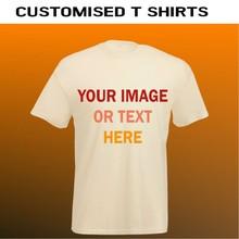 Custom printed natural plain t shirts. Wholesale beige coloured t shirts