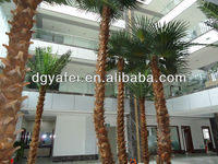 .High imitation Artificial evergreen big/middle palm Tree for home/office/meeting room/supermarket/indoor decoration