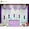 IDA wedding party decoration backdrop/wedding decoration large stage backdrops white wholesale
