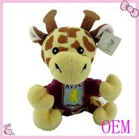 OEM/ODM stuffed plush animal toys giraffe