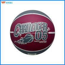 2014 outdoor custom size 1 rubber basketball