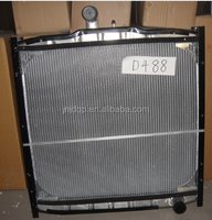 best price aluminum radiator D488 for Sinotruk truck parts