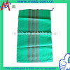 green pp woven bag supplier woven garment bags china wholesale