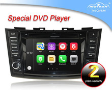 8 inch touch screen car gps dvd player for Swift Suzuki Swift 2012