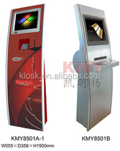 self service bill payment info kiosk terminal with android payment