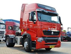 6 wheeler truck trailer truck for transport