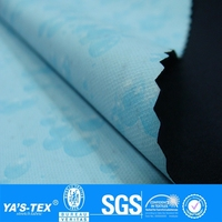 Blue Bubble Film Waterproof Polyester Fabric,Bubble Fabric,Fabric Lamination Film