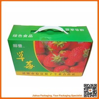 strawberry cartons / fancy strawberry packaging