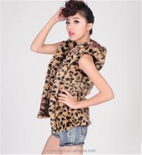 fashion fake fur vest ,short fur waistcoat RV52101