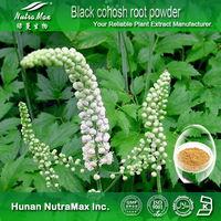 NutraMax Supplier - black cohosh root powder,black cohosh extract(triterpene glycosides),black cohosh p.e powder