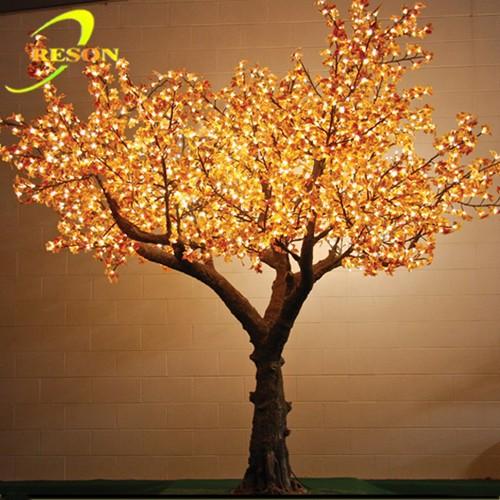 branche d 39 arbre d coration en plastique lumineux artificielle rable v nement en plein air. Black Bedroom Furniture Sets. Home Design Ideas