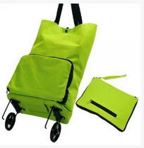 Wholesale Oxford Fabric Folding Tug Package Tug Bags Portable Shopping Cart Shopping Bag Car Luggage Cart