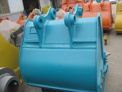 China construction machinery SK250 excavator bucket rock type for sales