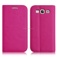 Mobile Phone Wallet Leather Card slots Inside Case For Samsung Galaxy S3
