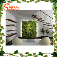2015 new products on the wall vertical artificial green wall for home garden