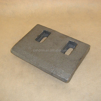 concrete mixer scraper, mixer spare parts for Liebherr mixing machine