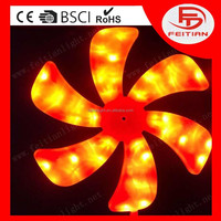 2015 new type control battery home decorative windmill holiday led decoration lights
