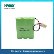 Rechargeable nimh battery pack aa 12v 1200mah with professional design