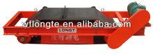 Auto unloading magnetic mineral separator machine
