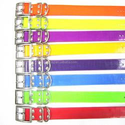 elegant custom design tpu dog collar with two rings