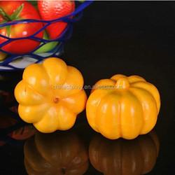 Artificial fake false EPS foam pumpkin fruit for wedding party home kitchen decorations