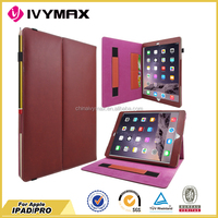 factory wholesale tablet case for I pad pro protective PU leather case