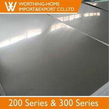 Alibaba Best Sellers 201 1mm Thick Stainless Steel Sheet Prices For Wall Panel Frame