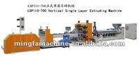 Vertical Plastic Sheet Extruder Machinery