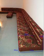 danxueya floor fabric sofa / Customize the corner sofa / latest wooden furniture designs in living room A01