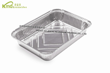 Kitchen Used Disposable Aluminum Foil Oblong Bake Serve Tray
