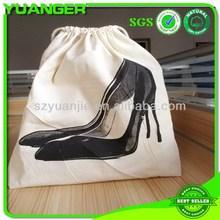 Creative fashionable packing dust shoe shaped handbag