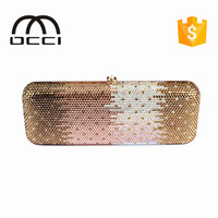 china manufacturer wholesale good quality evening bags with crystal women party evening bags TY890