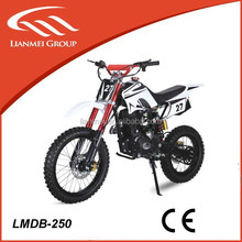 "250cc motorcycle, dirt bike type with 17"" tire"