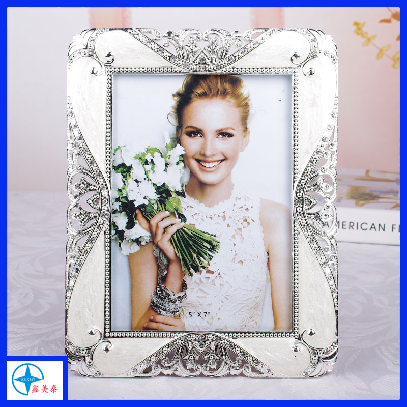 3D Quadro Da Foto Da Flor para a decoração home, quadro de Imagem Da Flor Branca para o casamento
