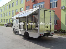 eletrical grill fast food van for sale popcorn vending carts street square food cart